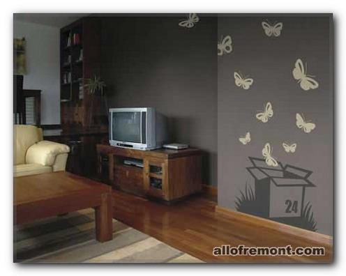 Метелики в ідеях декору інтер'єру