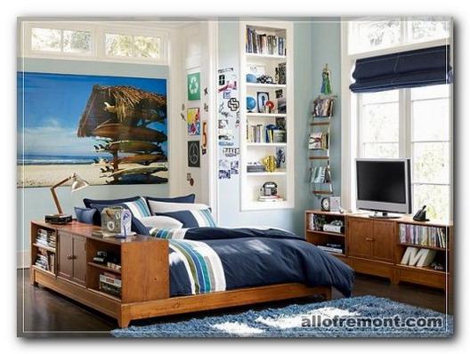 Яскрава кімната підлітка