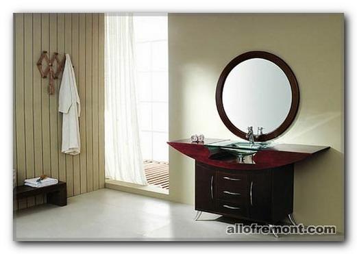 Дзеркало у ванній кімнаті