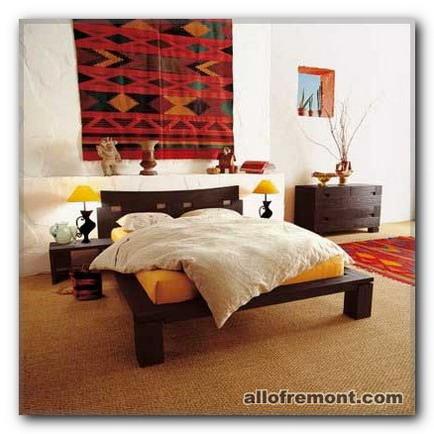 Килим в спальню