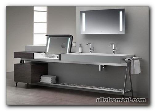 """Ванна кімната в стилі """"Хай-тек"""""""
