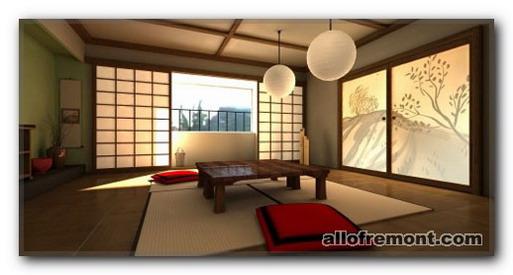 Перегородки в японському / східному стилі