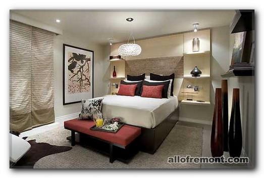Вазі в декорі спальні
