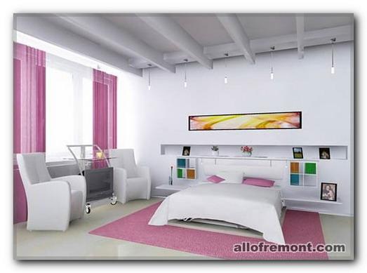 Ніжно-Рожева спальня