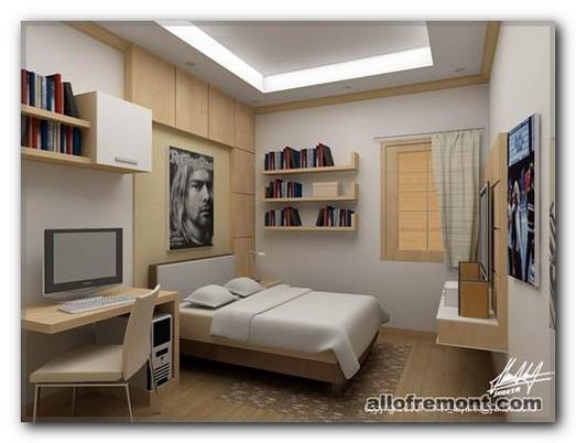 Робоча зона в спальні