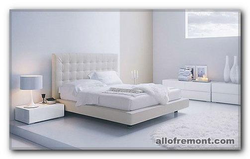 Білі спальні