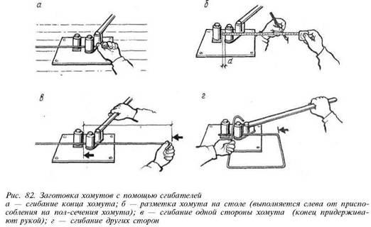 Станок для гибки арматуры своими руками (чертеж фото) 78