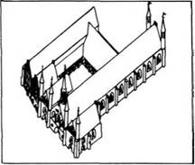 Архітектурні споруди. Готика