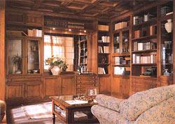 Інтер'єр домашньої бібліотеки
