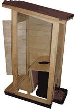 Як зробити туалет на дачі