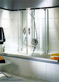 Ванна і душ - зручна комбінація