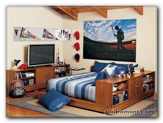 Кімната підлітка-мініатюрна квартира
