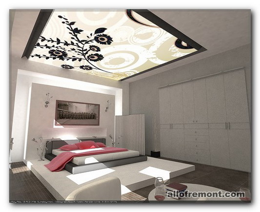 Дизайн спальні в мінімалістічному стілі