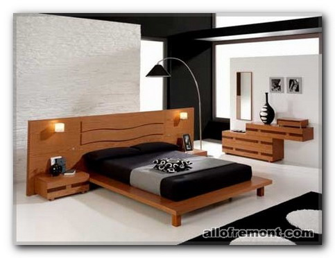 Інтер'єр спальні в стілі Мінімалізм