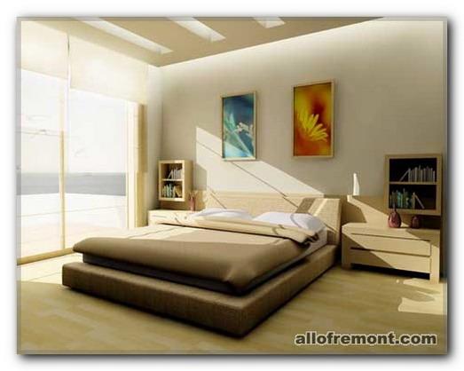 Обстановка спальні