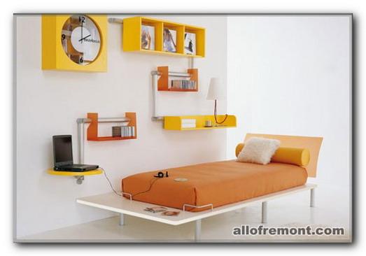 Спальня в стілі 'Мінімалізм'