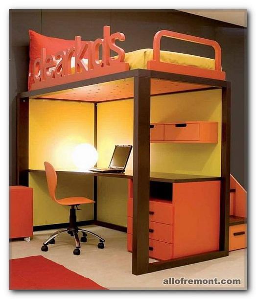Кабінет в дитячій кімнаті