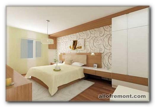 Затишне простір в спальні