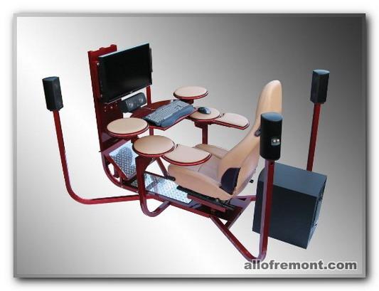 Робоча зона в кабінеті