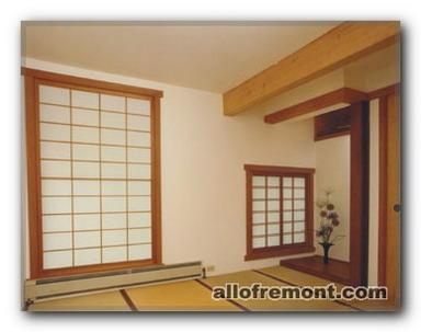 Оформлення вікон у японському / східному стилі