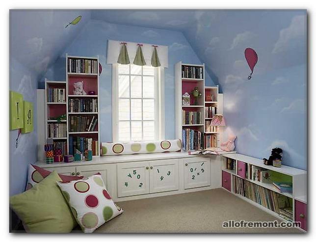 Стіни в дитячій кімнаті