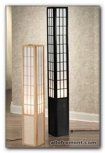 Світильник в японському / східному стилі