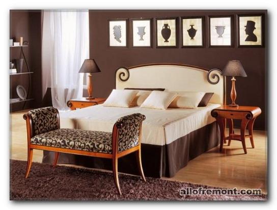 Спальня в стілі 'Бидермейер'
