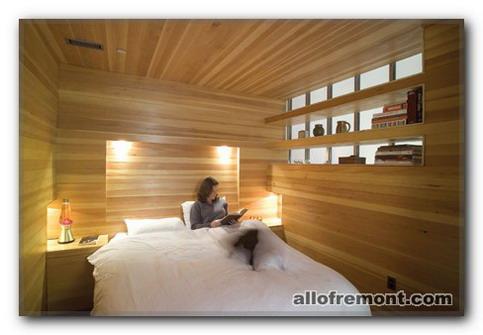 Спальня з дерева