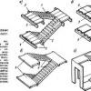 Сходи, пандуси, будівельні елементи підйомно-транспортного устаткування