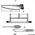 Інструмент для виготовлення дерев'яних сходів