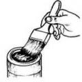 Використання кисті