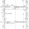 План цокольного поверху з цегляними стінами