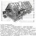 Типи конструкцій житлових будинків. Підстави і фундаменти