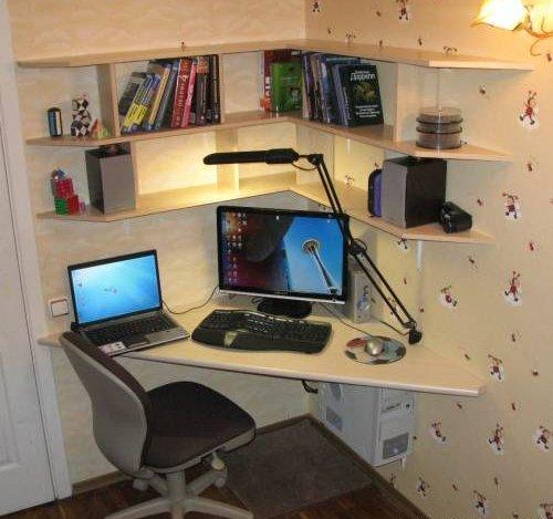 Как самому сделать компьютерные столы своими руками 31