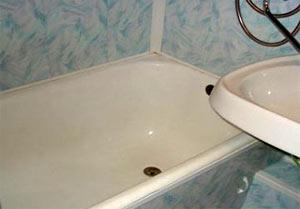 Як відновити емаль ванни