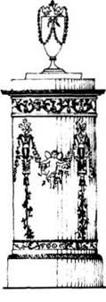 Каміни і печі. X IX століття