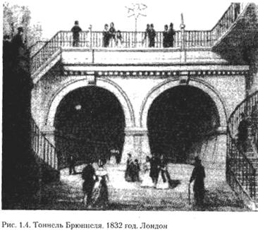Короткий історичний огляд підземного будівництва в світі. Частина 2