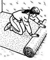 Метод без приклеювання до підлоги