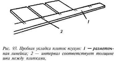 Облицювання підлог