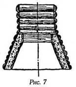 Спосіб пристрою колодязів у маловодоносних шарах