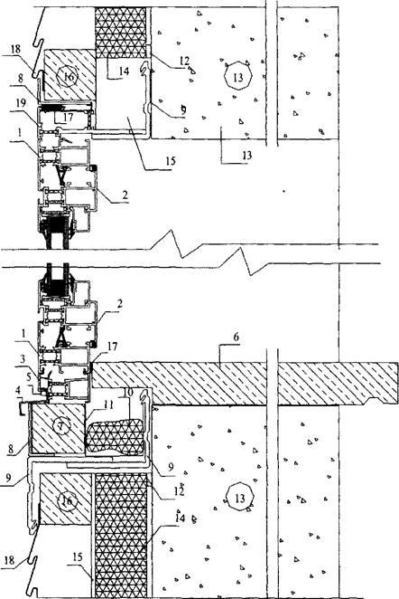Установка віконних блоків у стінах. Розробка вузлів примикання