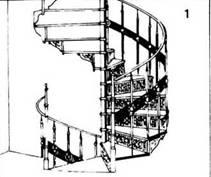Внутрішні сходи. X IX століття